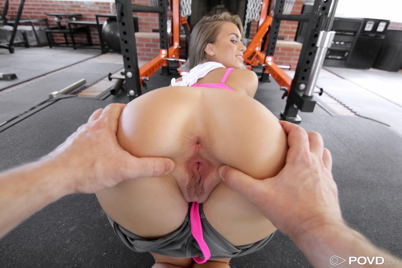 Workout Girl Nude Dildo